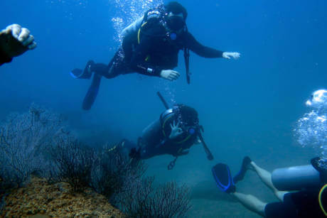 Scuba Diving with Cham Island Diving Center in Hoi An, Vietnam - Student Diver