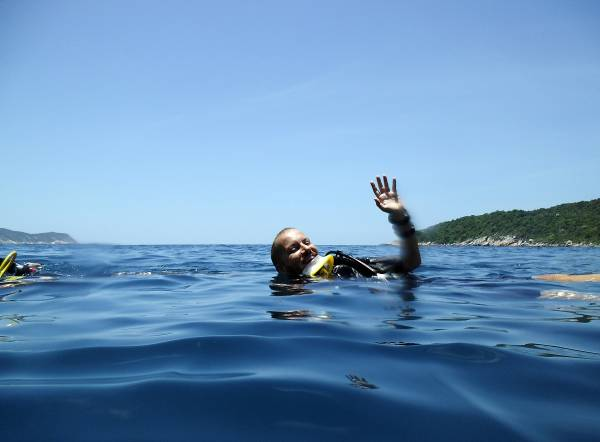 Cham Island Diving Center, your place in Hoi An, Vietnam to become a Scuba Diver